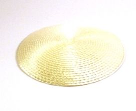Ivory  Synthetic Hat Base 14cm